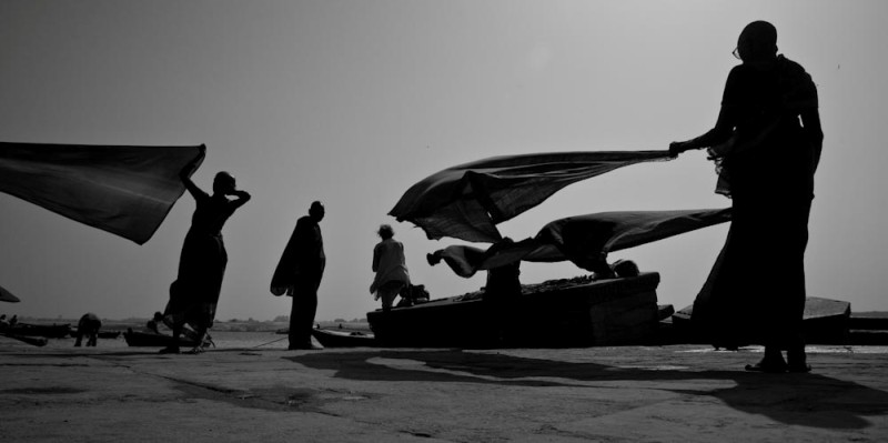 Drying Winds, Benaras (2009)