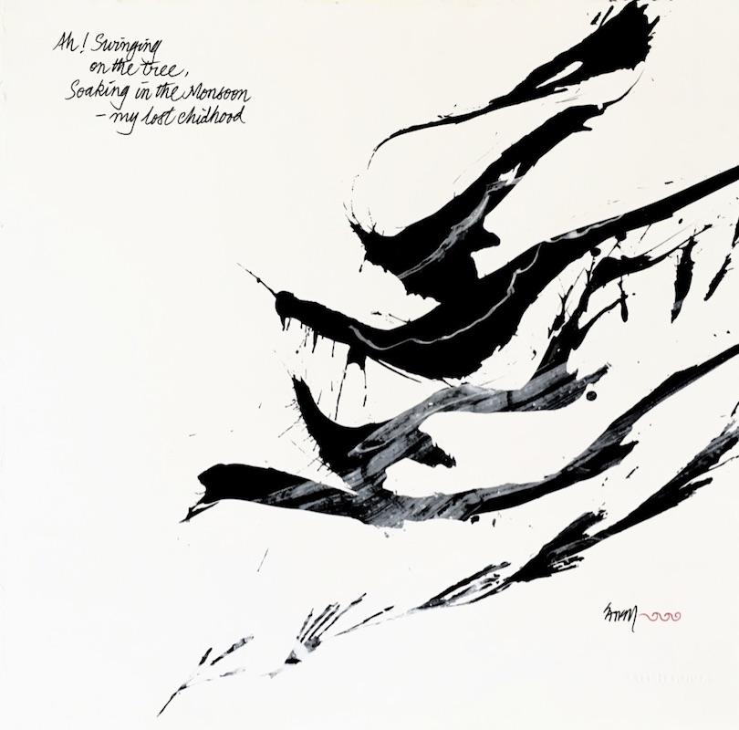 Haiku no. 9, Ah! Swinging… (2018)