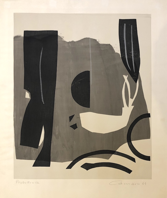 Komposition in Grautönen (1961)