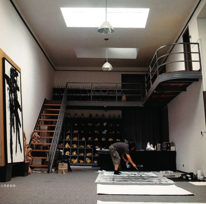 Liu Yonggang in seinem Studio