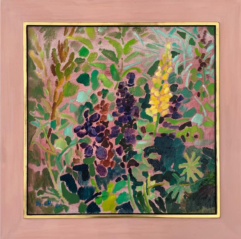 Mosaik auf rosa Grund (1980)