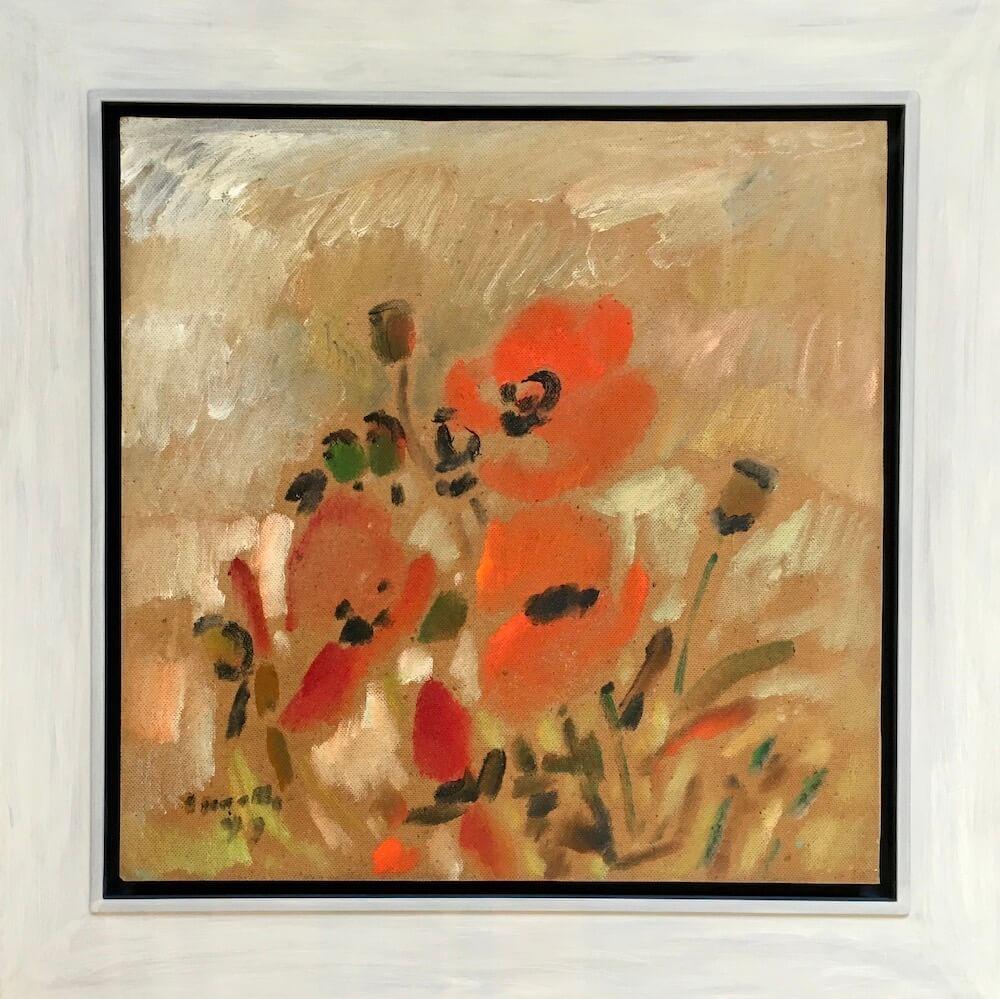 Siegward Sprotte, Mohn Poppies, 1999, 61 x 60,6 cm